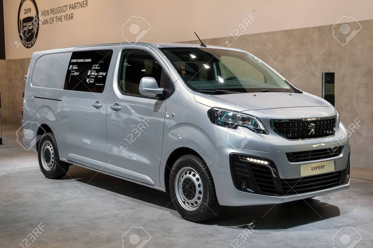 Brussels Jan 18 2019 Peugeot Expert Commercial Vehicle Showcased Stock Photo Picture And Royalty Free Image Image 128354918