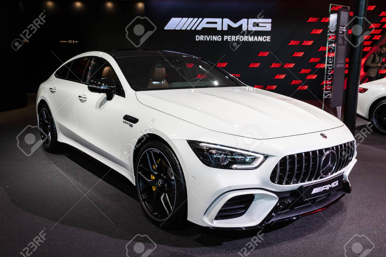 Frankfurt Germany Sep 10 2019 Mercedes Benz Amg Gt 63 S 4 Door Coupa C 4matic Sports Car Showcased At The Frankfurt Iaa Motor Show 2019 Stock Photo Picture And Royalty Free Image Image 134995381