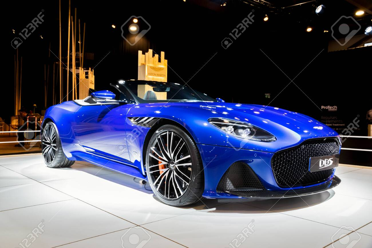 Brussels Jan 9 2020 Aston Martin Dbs Superleggera Volante Stock Photo Picture And Royalty Free Image Image 138952801