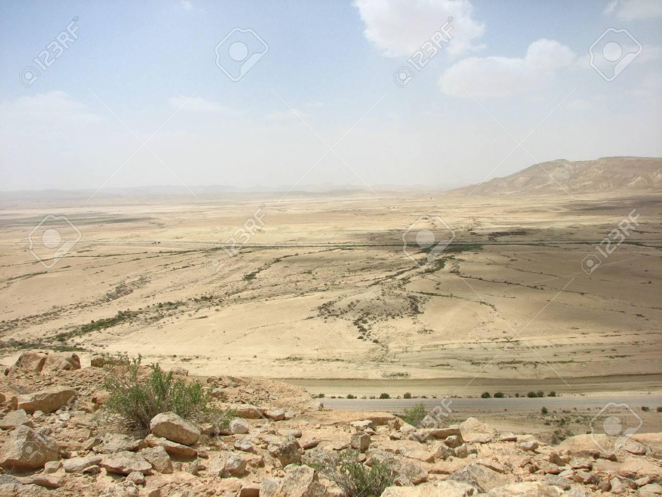 Egyptian Sinai Peninsula on the border of Israel