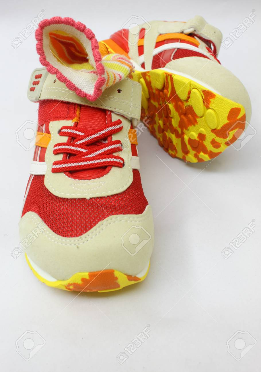 colourful sports shoes Stock Photo - 9791449
