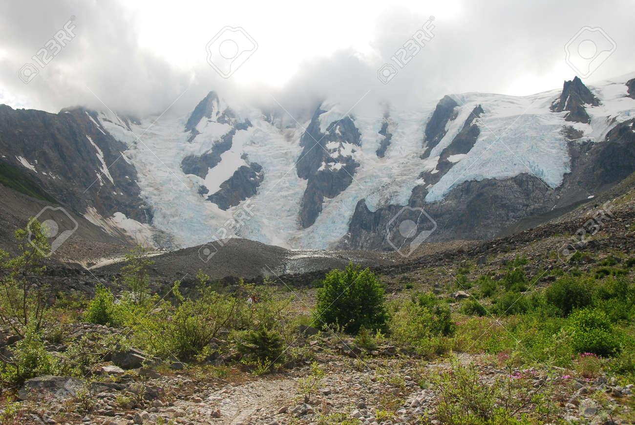 Laughton Glacier, Skagway, Alaska - 165357842