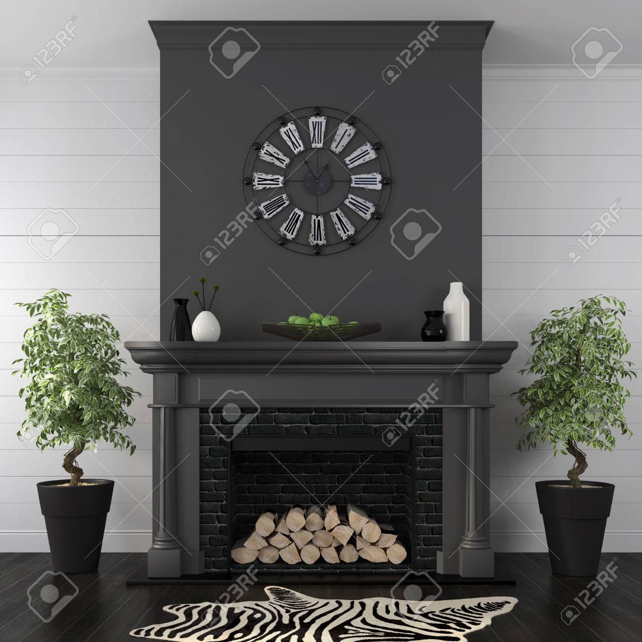 Soggiorno Bianco Nero : Mobile soggiorno bianco nero. Soggiorno ...