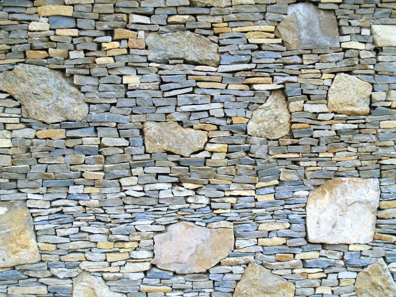 visin horizontal de capas paredes exteriores de piedra arenisca de fomento de fachada a