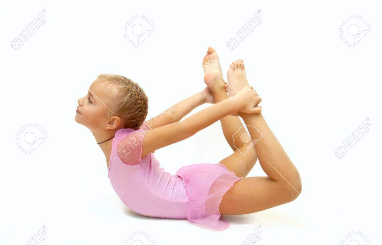 Русские маленькие гимнастки 21 фотография