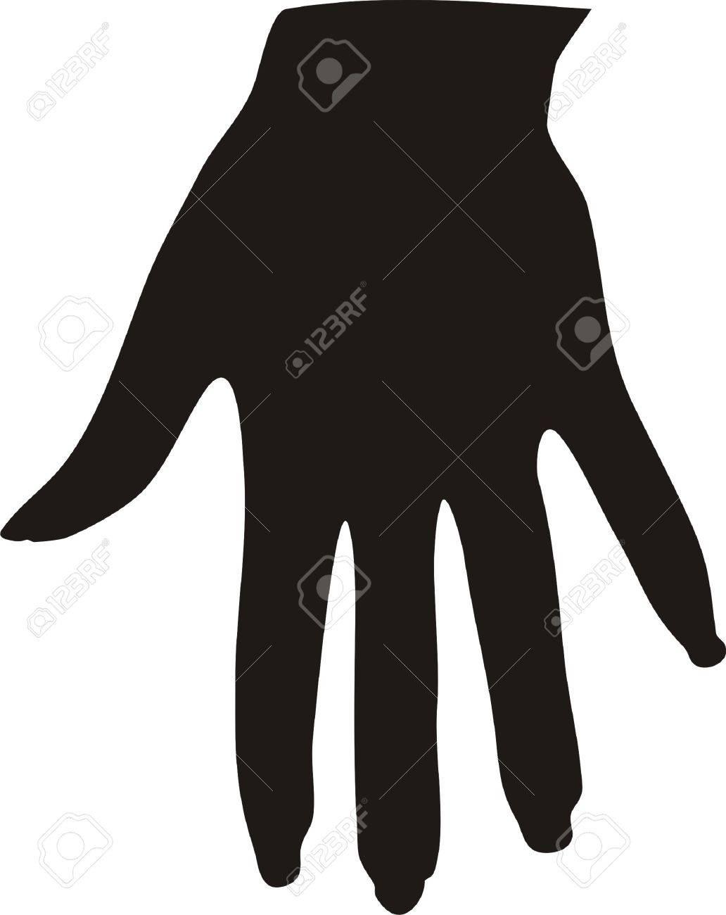 Female hand Stock Vector - 8275912