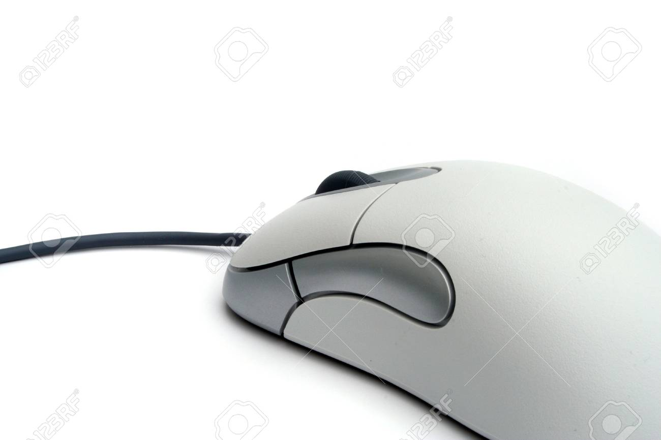 A typical computer mouse. All isolated on white background. Stock Photo - 6642560