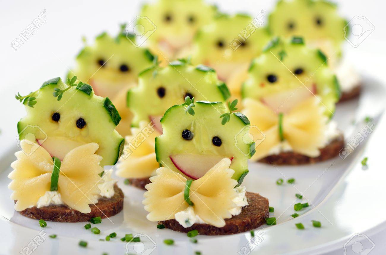 Funny Cheese Morsels Stock Photo Picture And Royalty Free Image