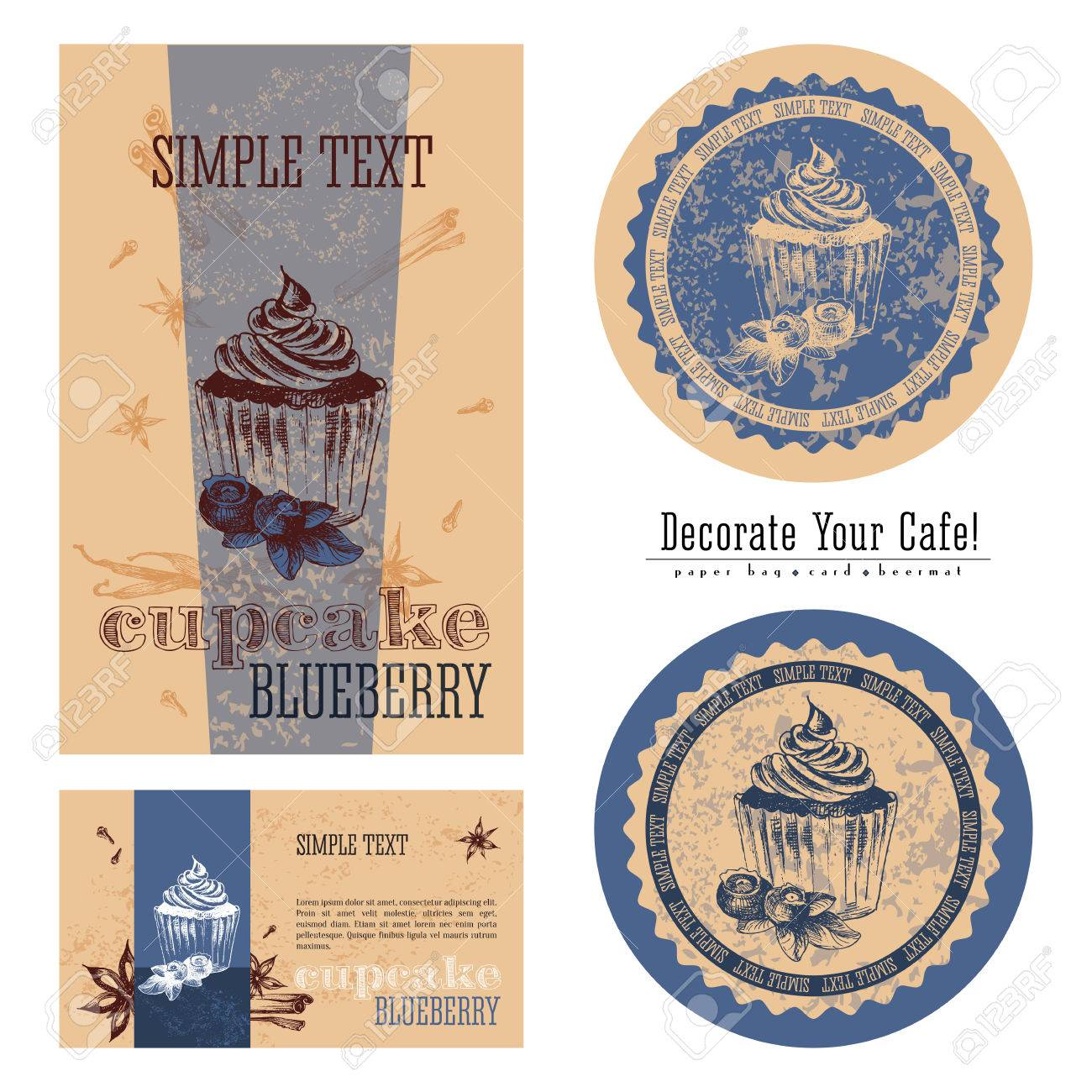 Blueberry Cupcakes, Eco-friendly Packaging Design And Execution ...