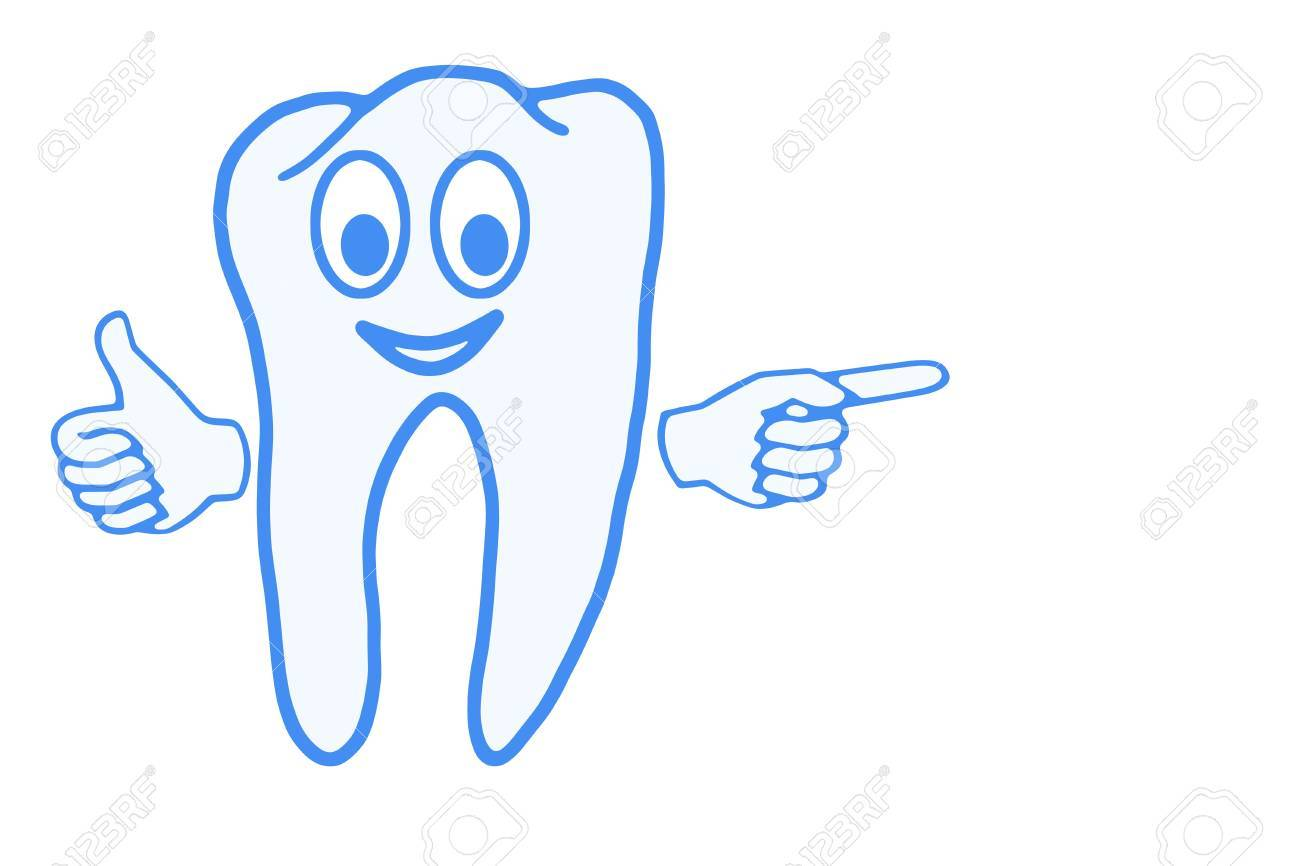 Nice healthy tooth, health and hygiene Stock Photo - 11099396
