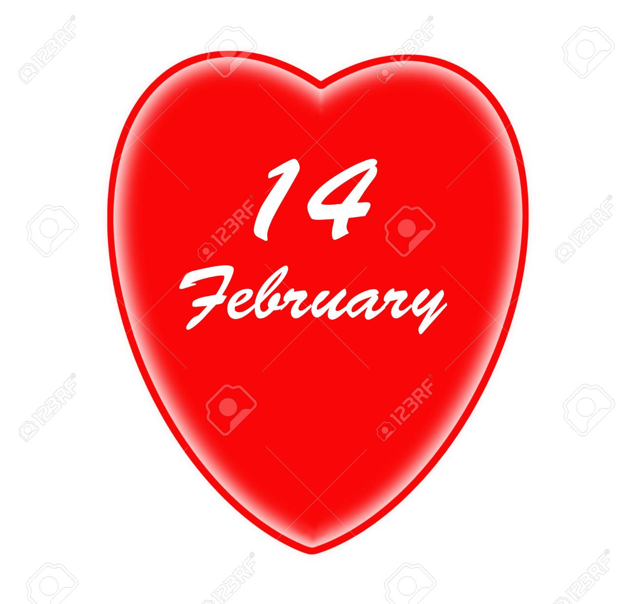 Red heart and valentines day Stock Photo - 15948785