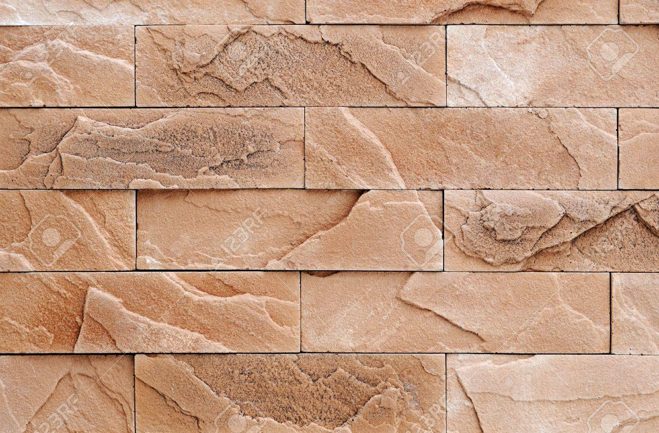 Brown brick stone exterior and interior decoration building material for wall  finishing Stock Photo   6504370Brown Brick Stone Exterior And Interior Decoration Building  . Exterior Wall Finishing Materials. Home Design Ideas