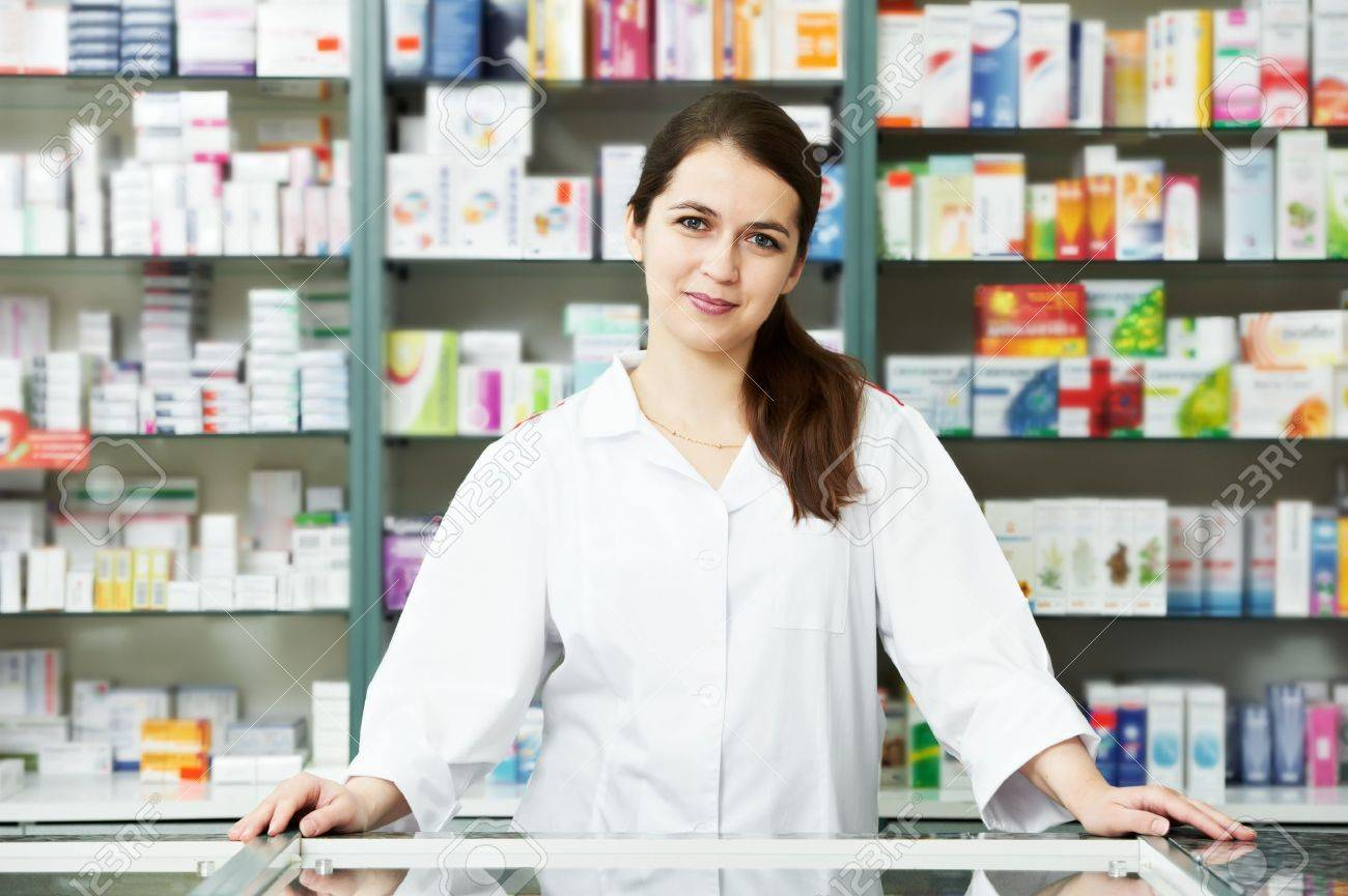 The Best Info On Vitamins And Minerals 9779716-Pharmacy-chemist-woman-in-drugstore-Stock-Photo-pharmacist