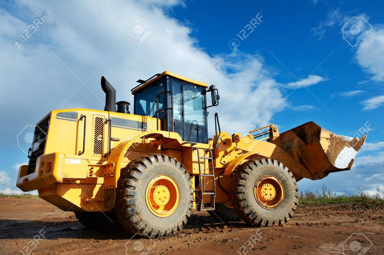 construction loader excavator Stock Photo - 10543520
