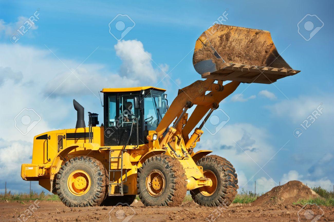 construction loader excavator - 10543517