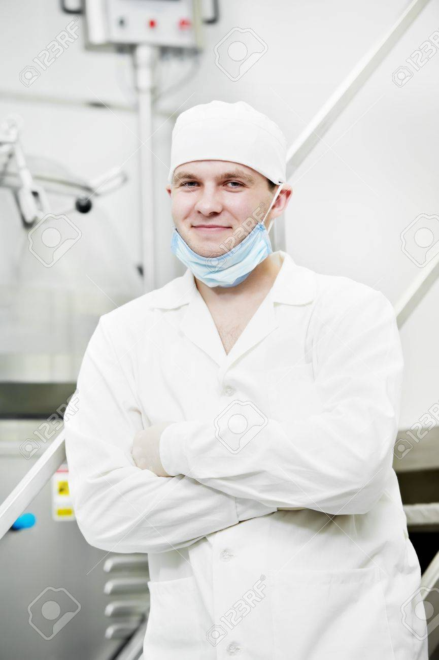 pharmaceutical factory worker Stock Photo - 11702035