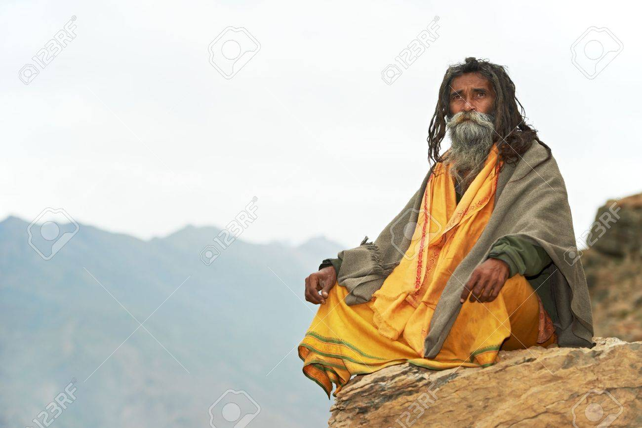 indian monk sadhu stock photo picture and royalty free image image