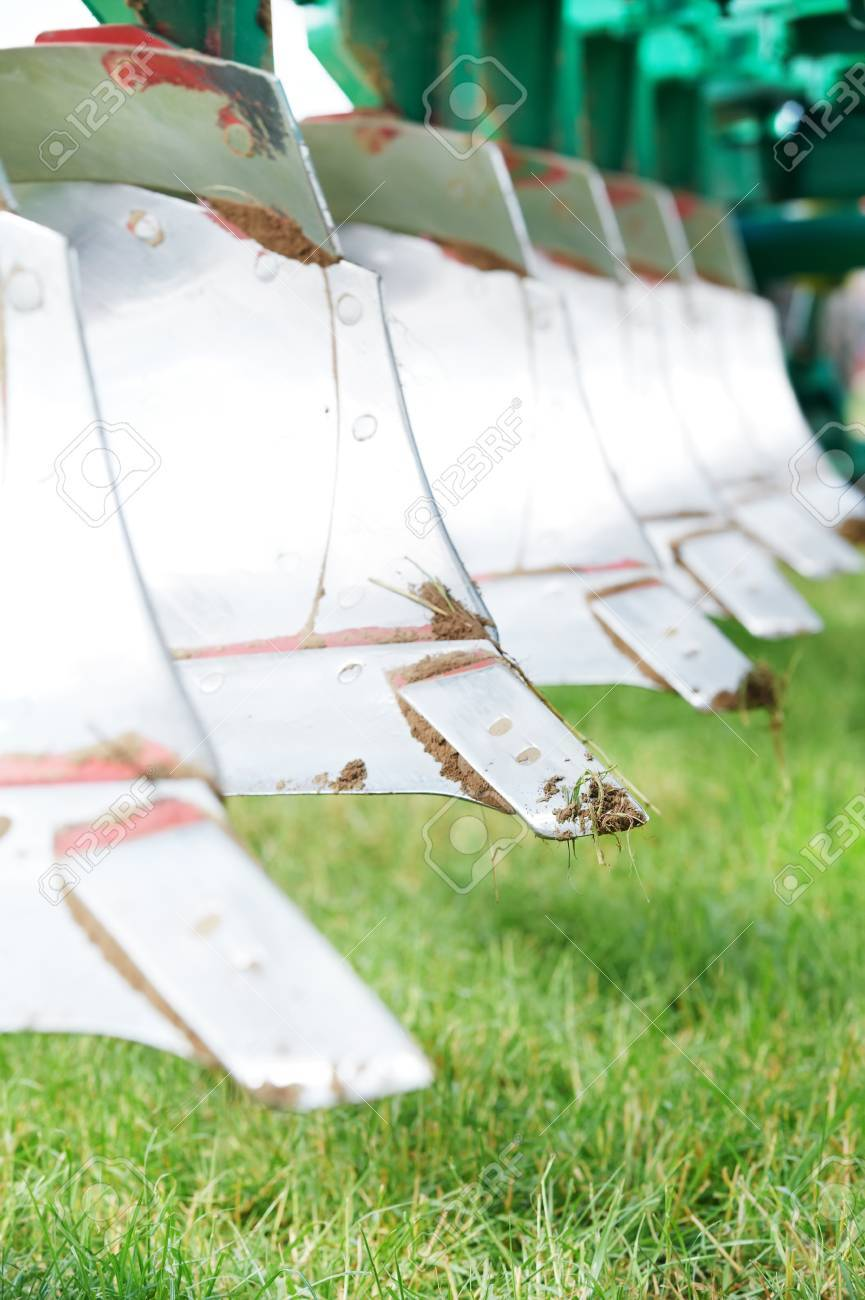 Ploughing equipment for field cultivation work Stock Photo - 15540980
