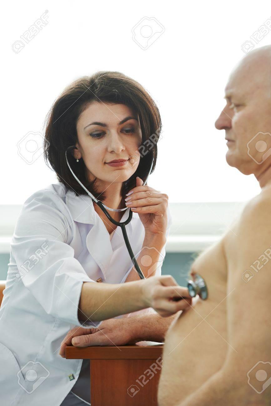Doctor Listening to Heartbeat Doctor Listening Heartbeat