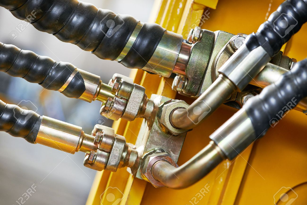 Hydraulic pressure pipes system of construction machinery - 27626577