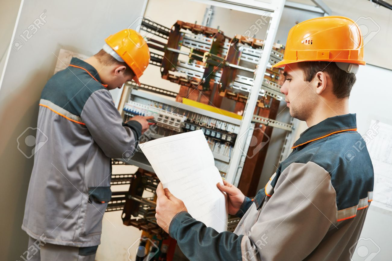 Wiring Works House Job In Chennai Two Electrician Builder Engineer With Electric Cable