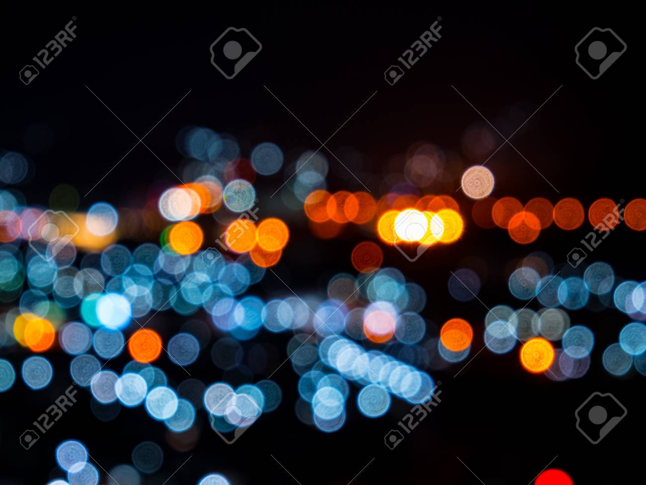 blurred bokeh light defocused background and textured for christmas new year holidays party and celebration