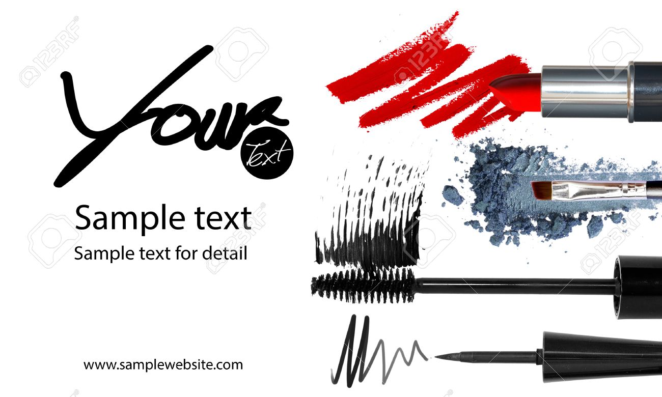 Makeup Artist Business Card Template Images - Templates Example ...