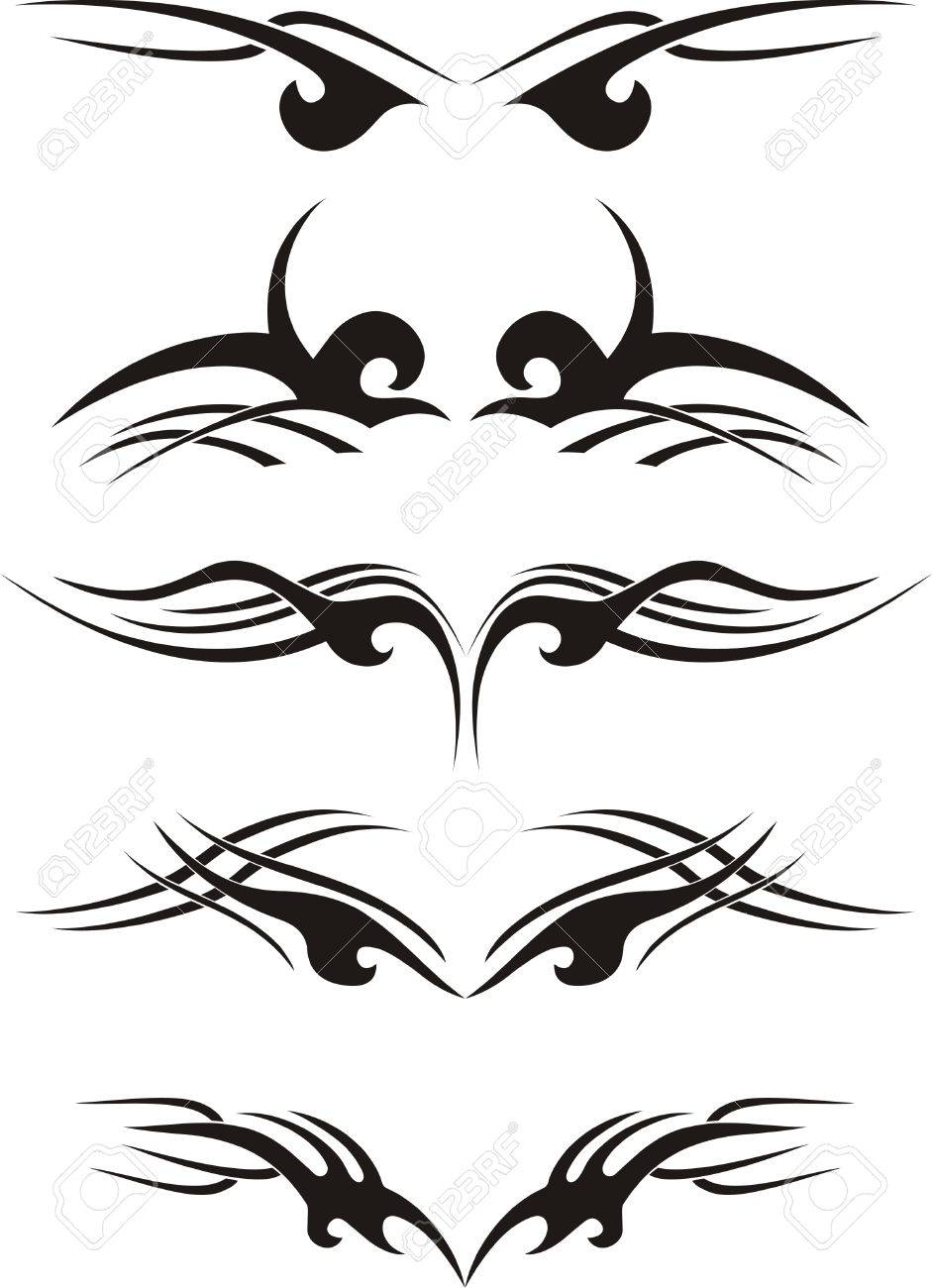 Tribal tattoo Stock Vector - 4438535