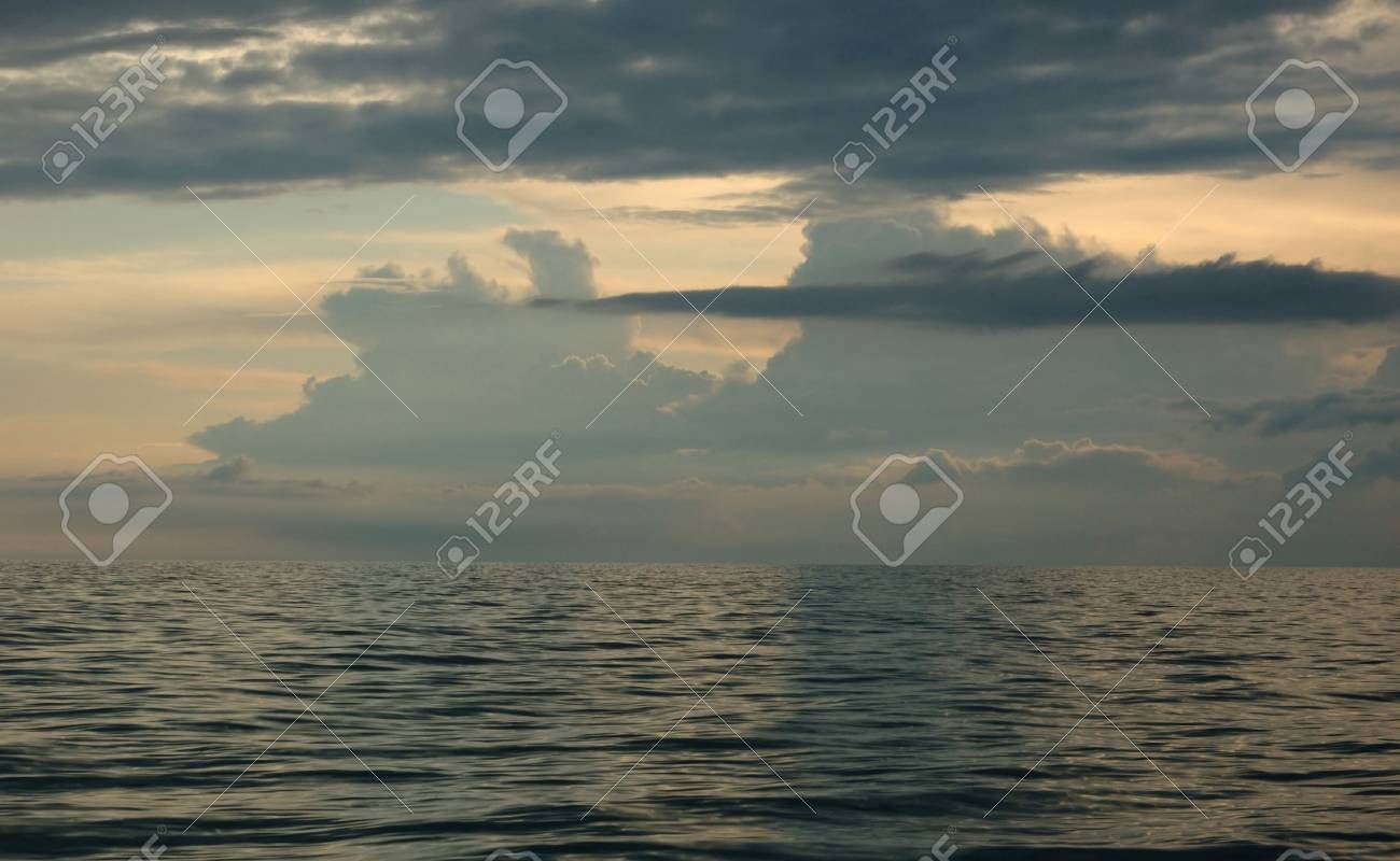 Black Sea after sunset Stock Photo - 4822254