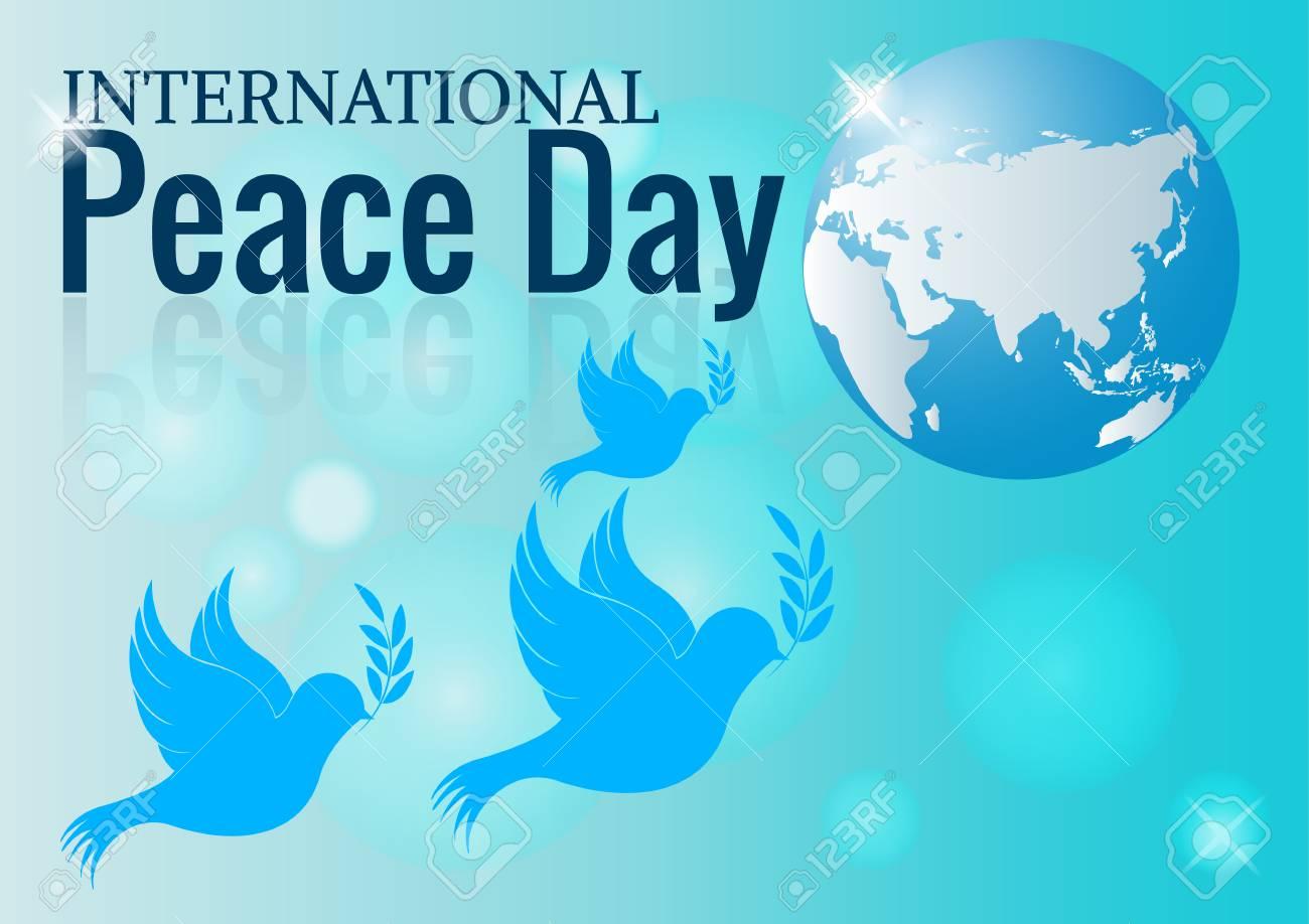 国際平和デー インフォ グラフィ...