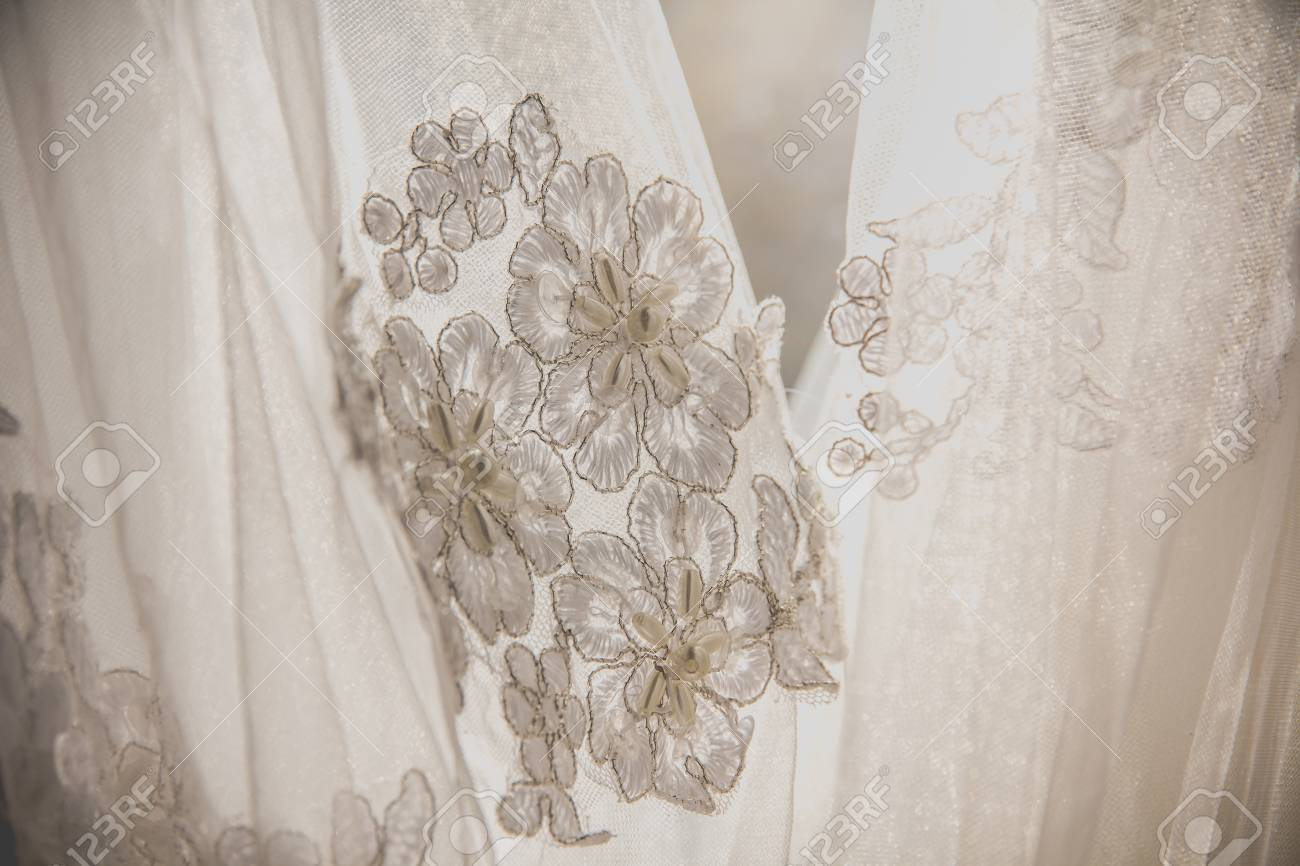 Fabrics for a wedding dress - a variety of beauty
