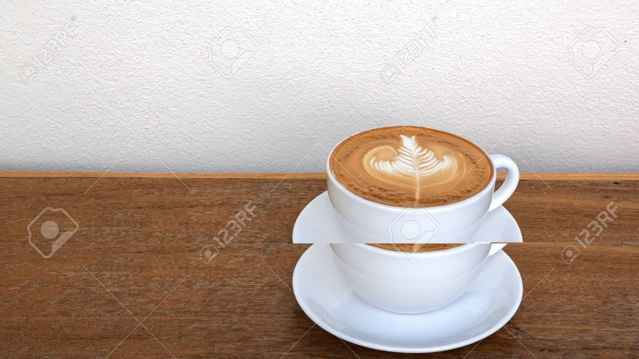 Latte Foam Texture