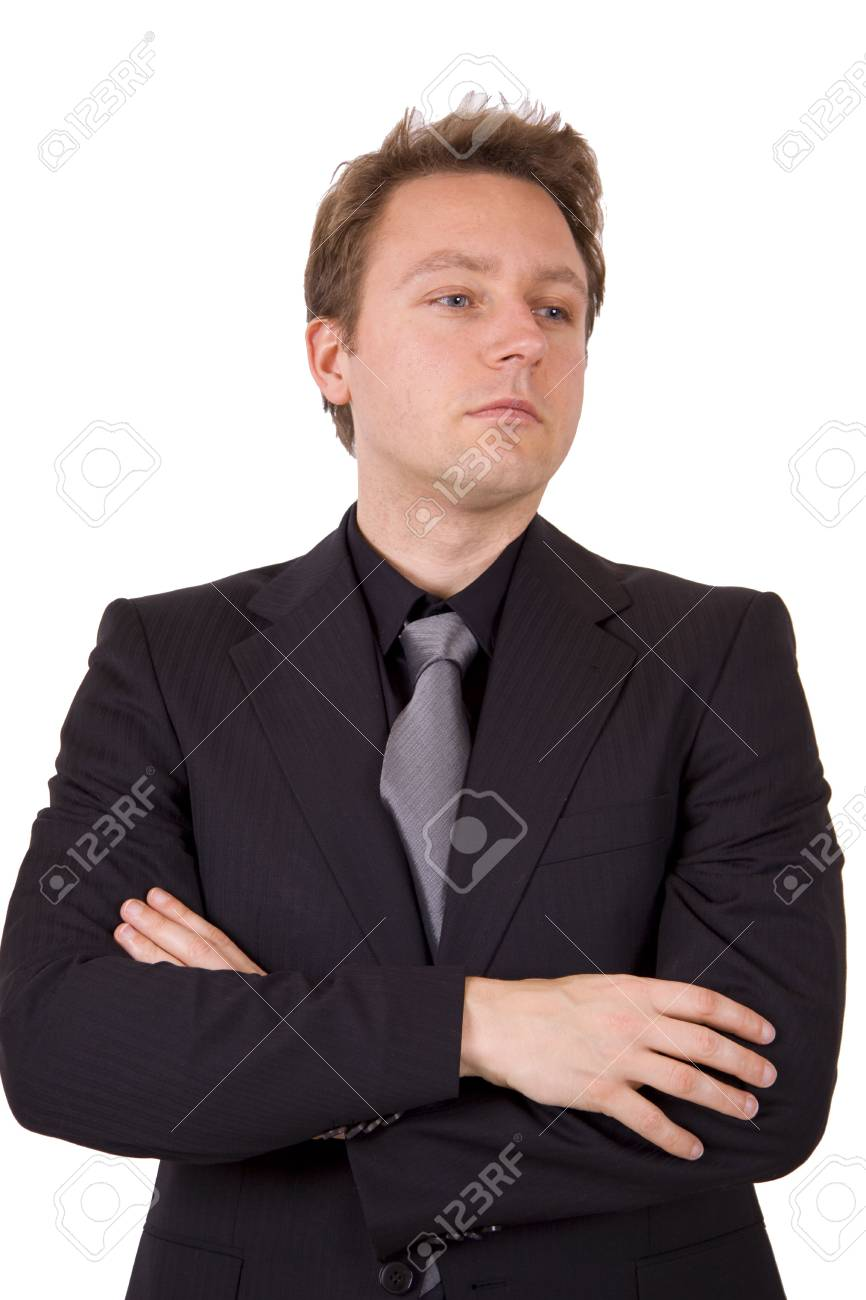 Businessman with arms crossed Stock Photo - 4573003