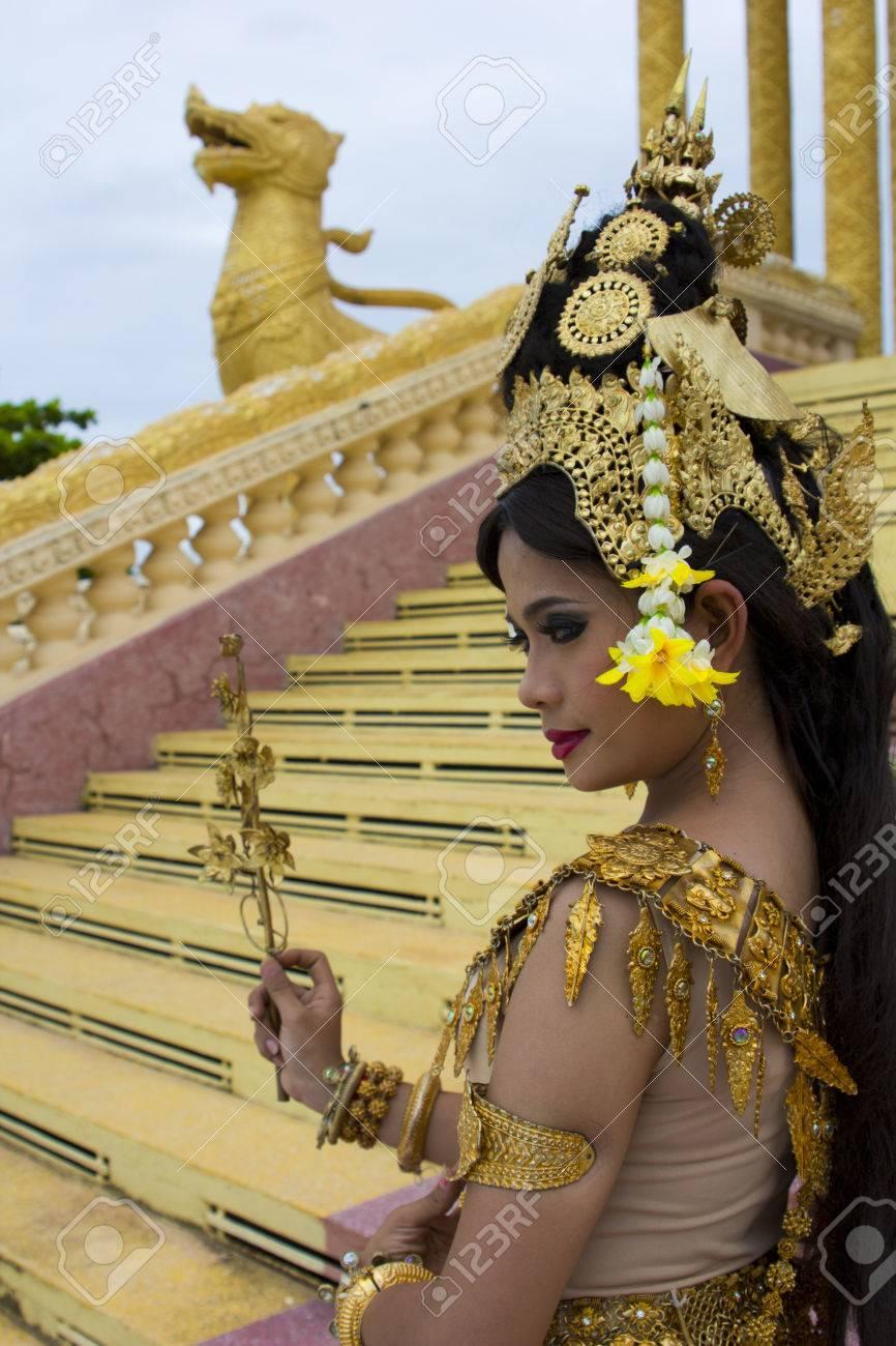 Apsara Dancer Beautiful Supernatural Female In Asian Mythology ...