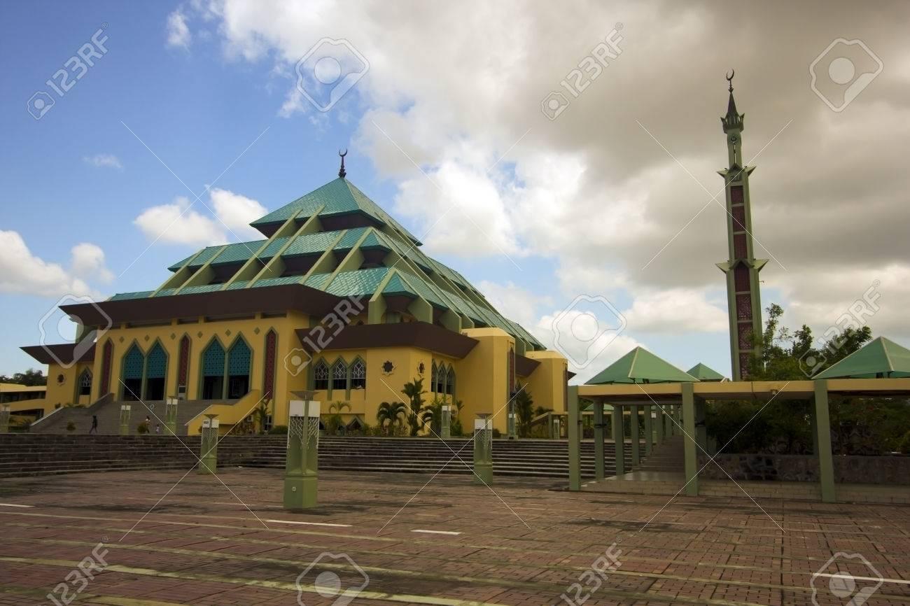 Masjid Raya Batam pyramid mosque, batam island, indonesia - 23486248