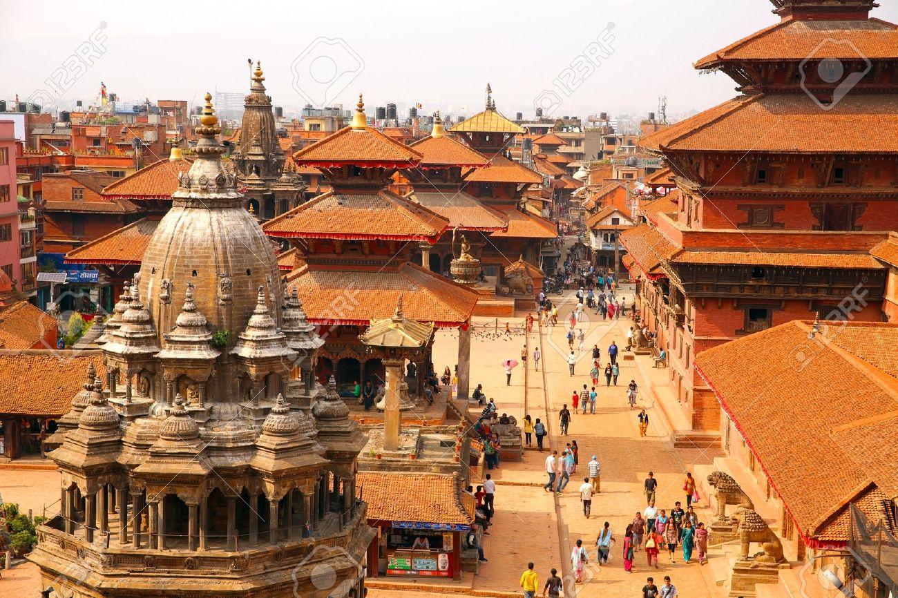 KATHMANDU, NEPAL - JUNE 2013: Patan Durbar Square - 23489682