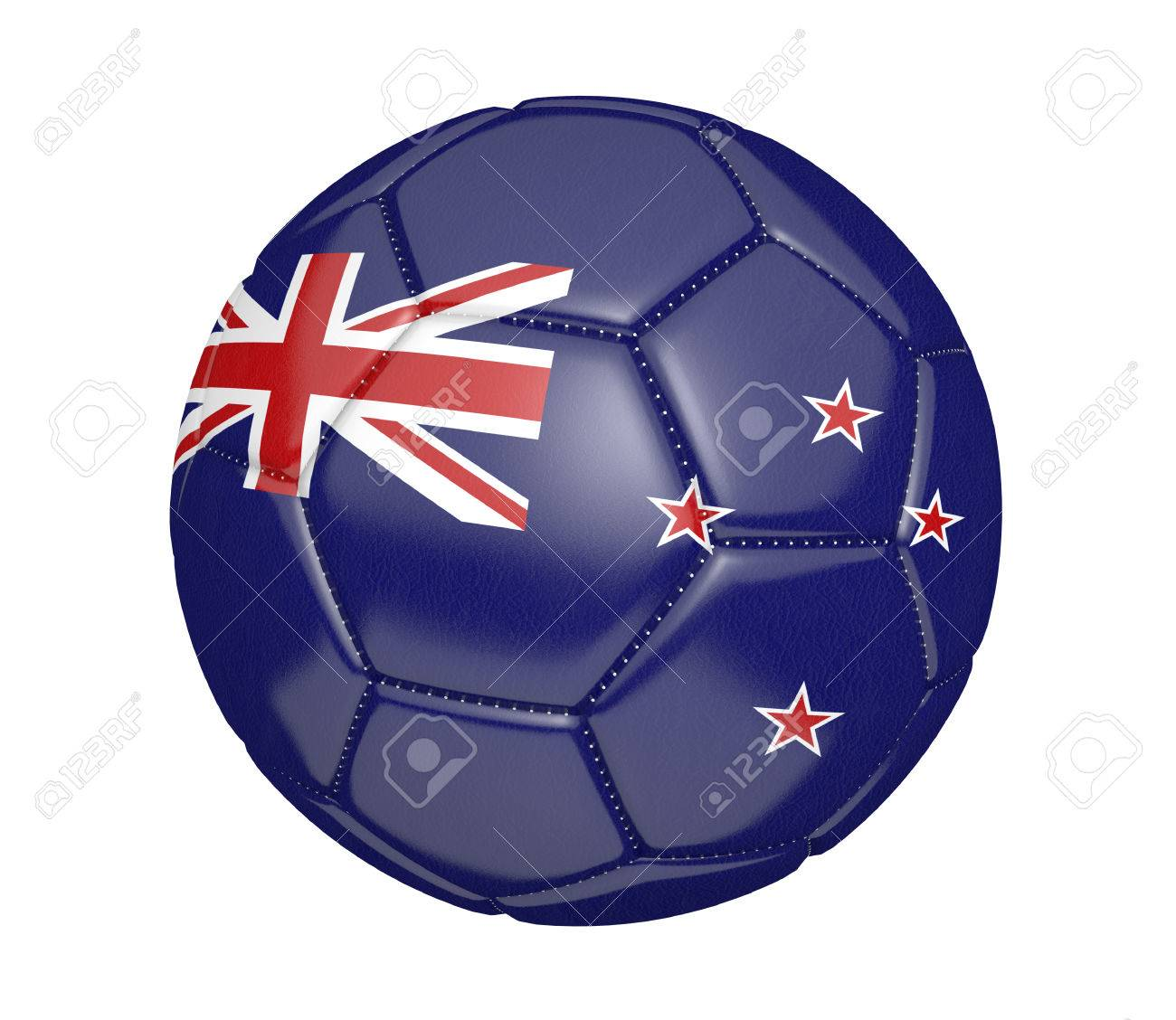 Fußball, Auch Als Fußball Bekannt Ist, Mit Den Farben Der Nationalen ...