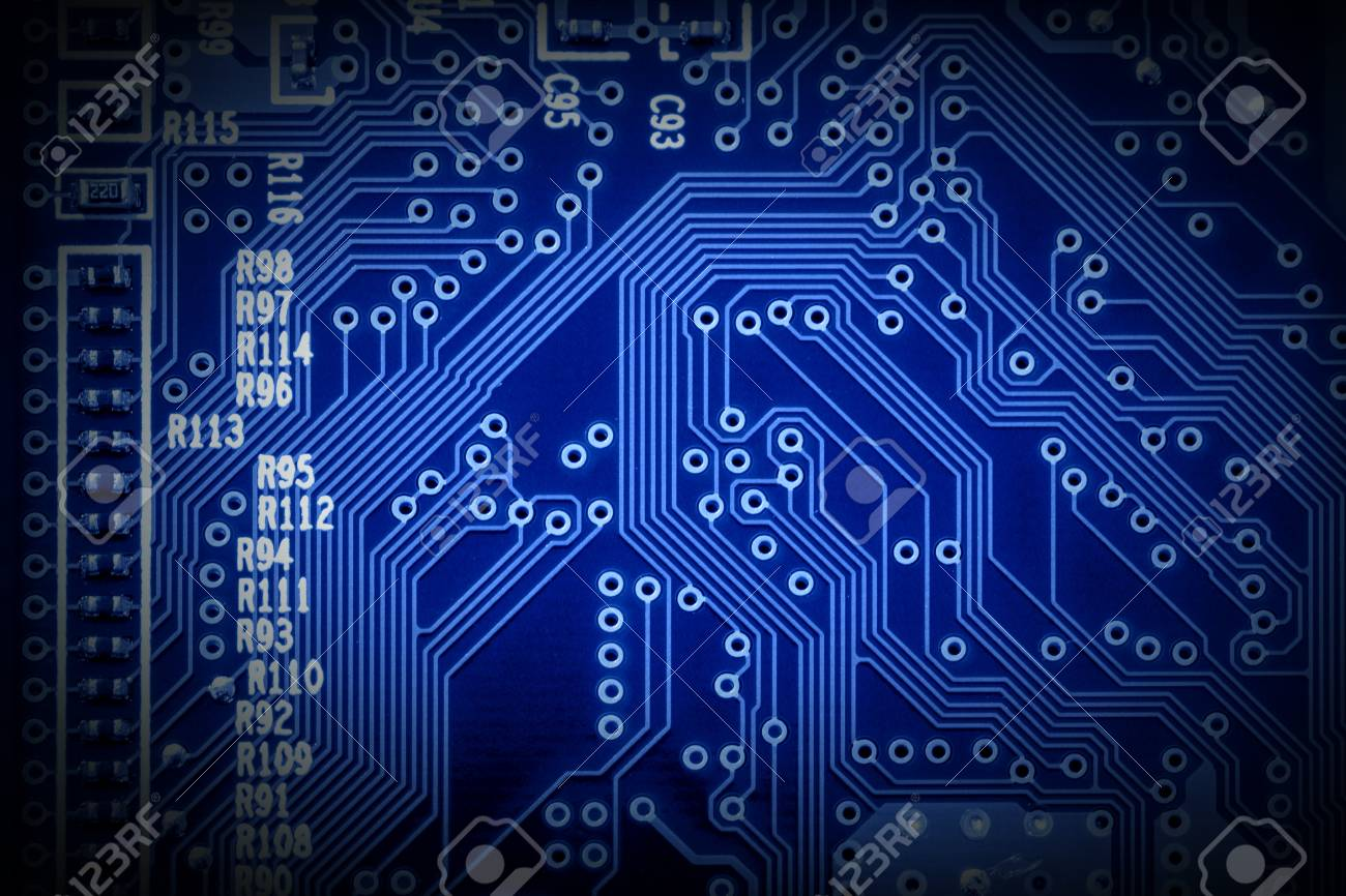 Pleasing Modern Microchip Technology Background Of A Printed Circuit Board Wiring Digital Resources Biosshebarightsorg