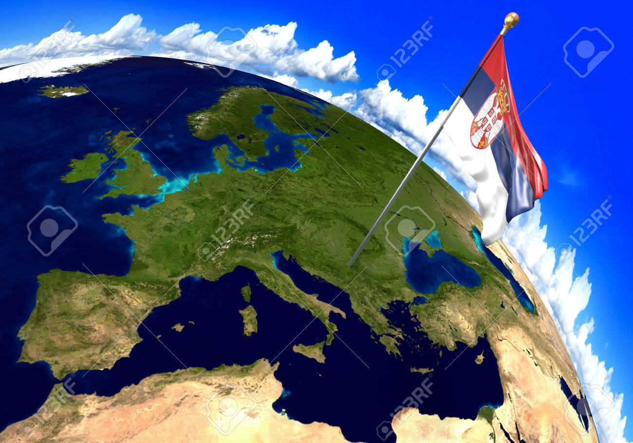 Where Is Serbia On A World Map - Picture Ideas References