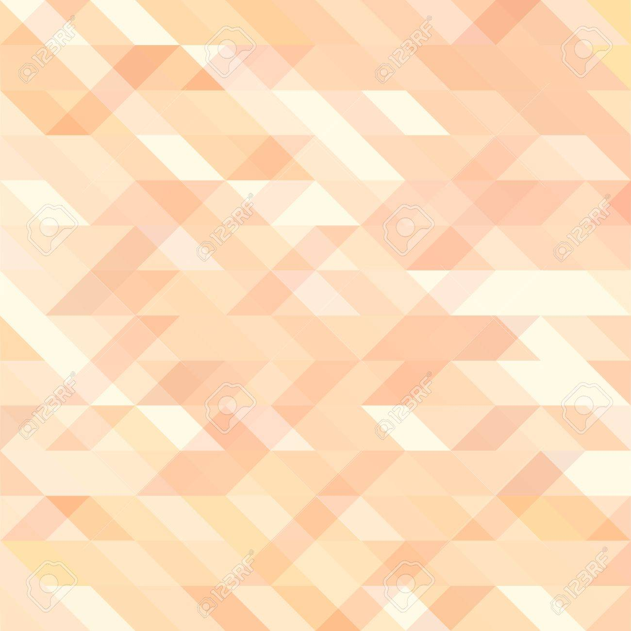 Abstract Pattern In Mosaic Style. Colorful Triangles Texture Banco De