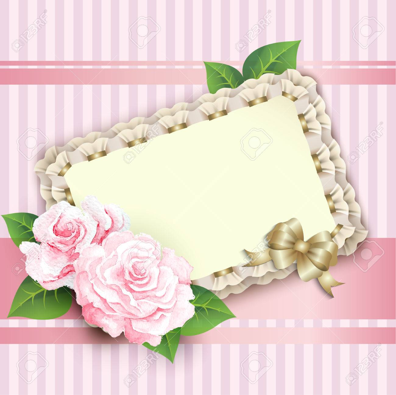 Ornate pink frame decoration with white pattern elegant vintage ornate pink frame decoration with white pattern elegant vintage greeting card design happy birthday m4hsunfo