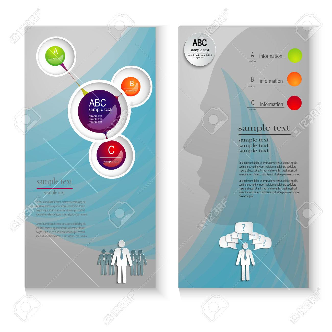 Information Flyer Template. professional business flyer template or ...