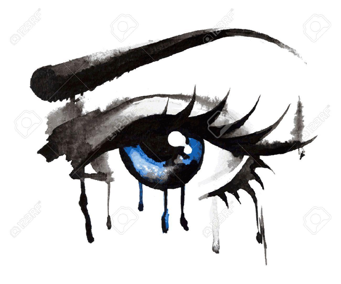 Eyes Hand Drawn - 36026119