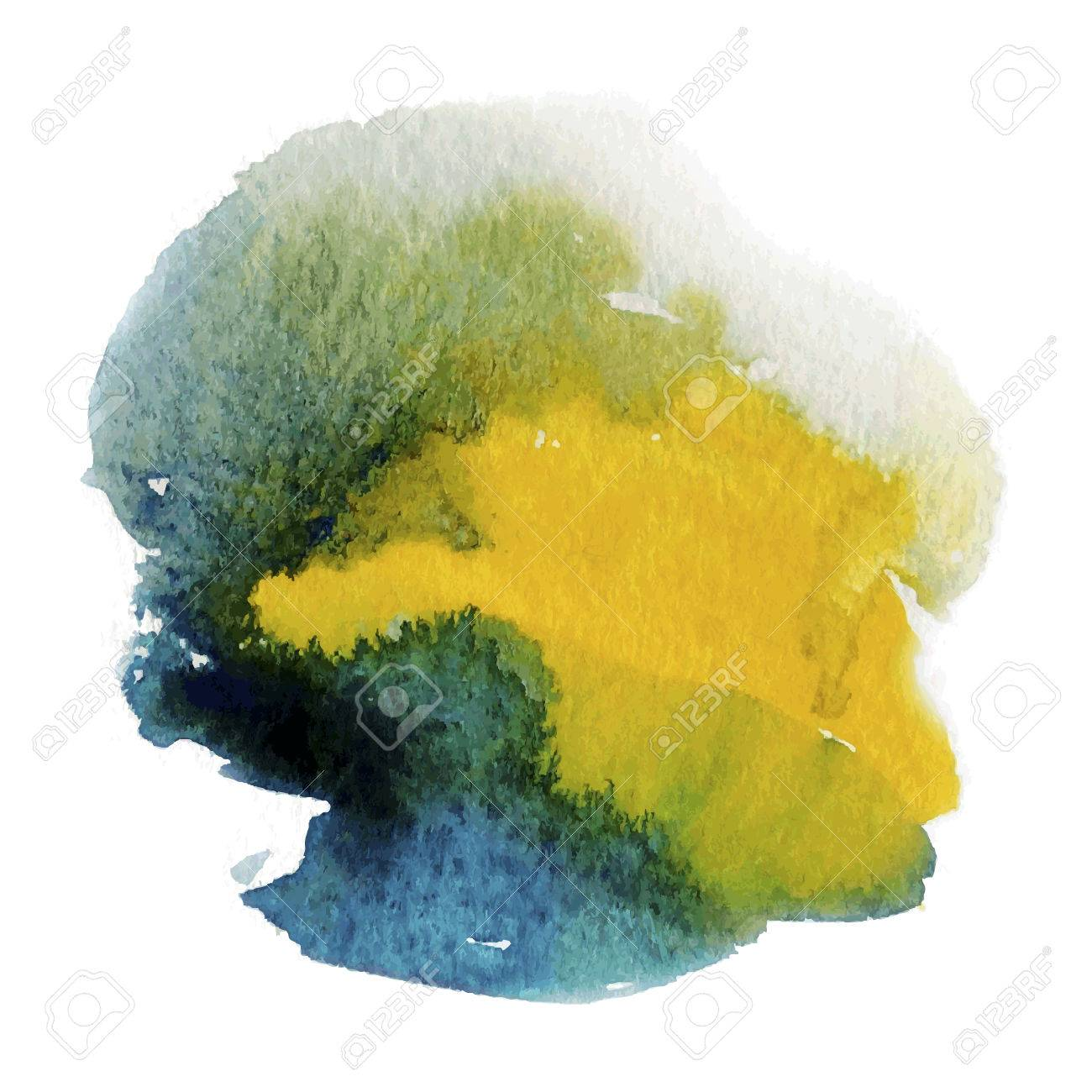 Watercolor abstract background - 38162078