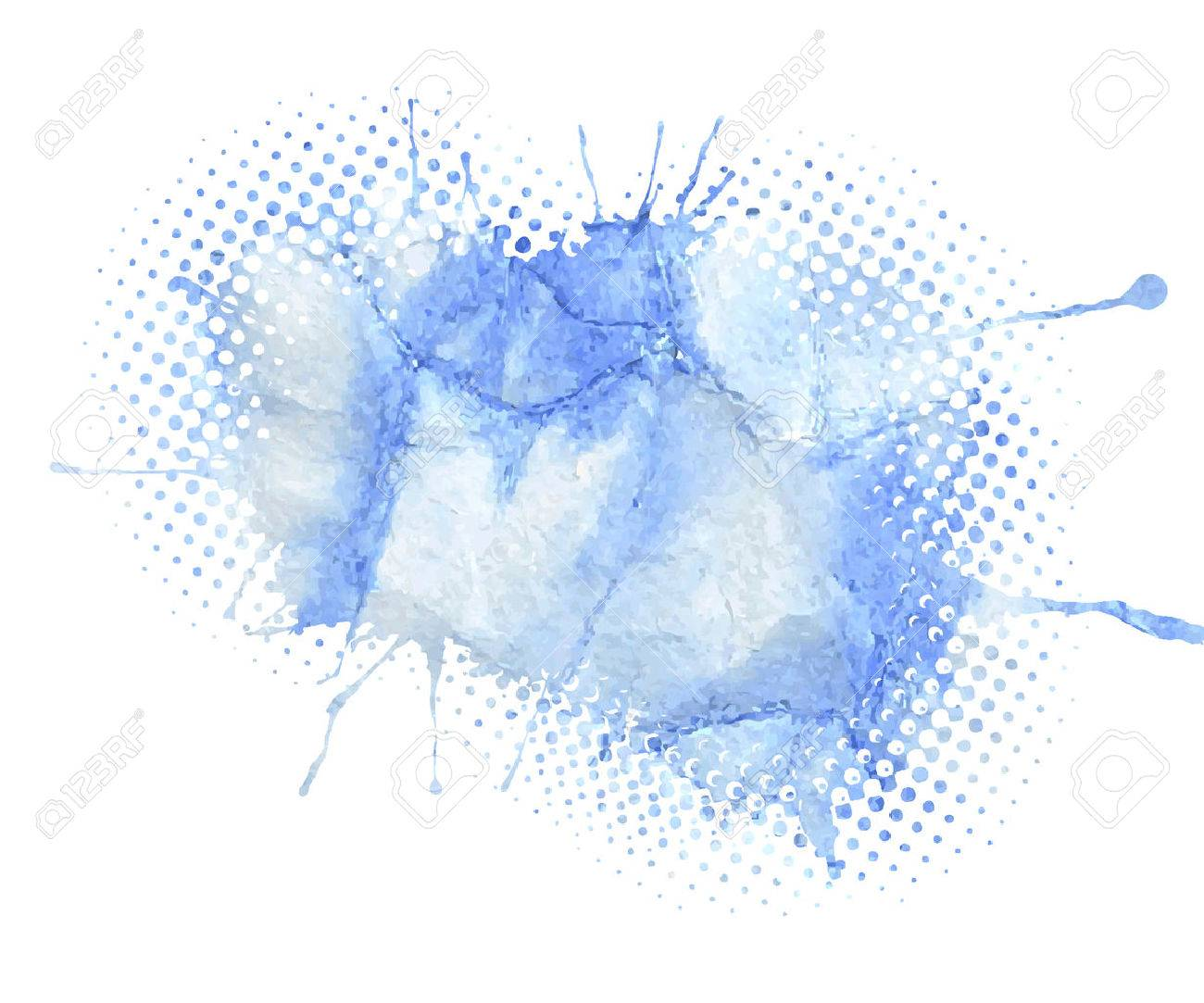 Watercolor vector background - 41815955