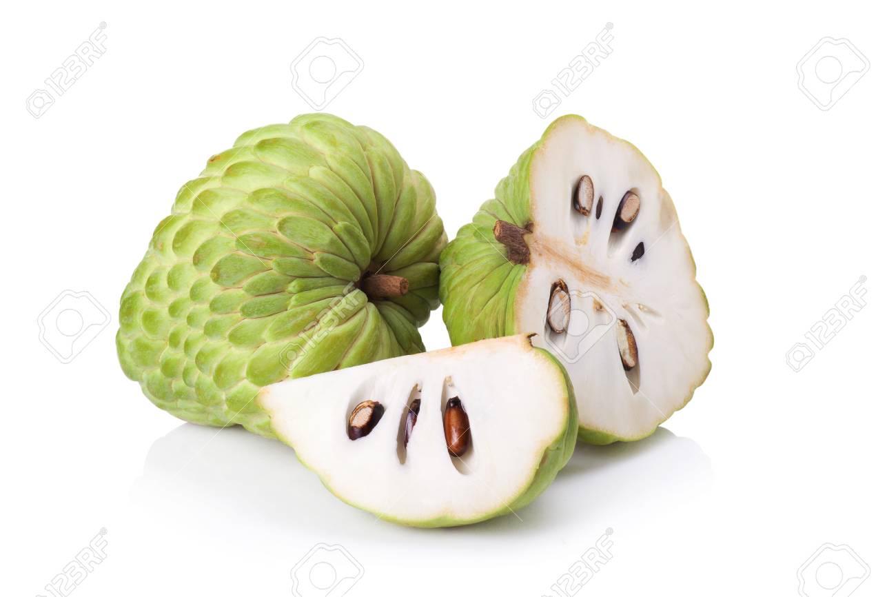 custard apple on white background - 41798739