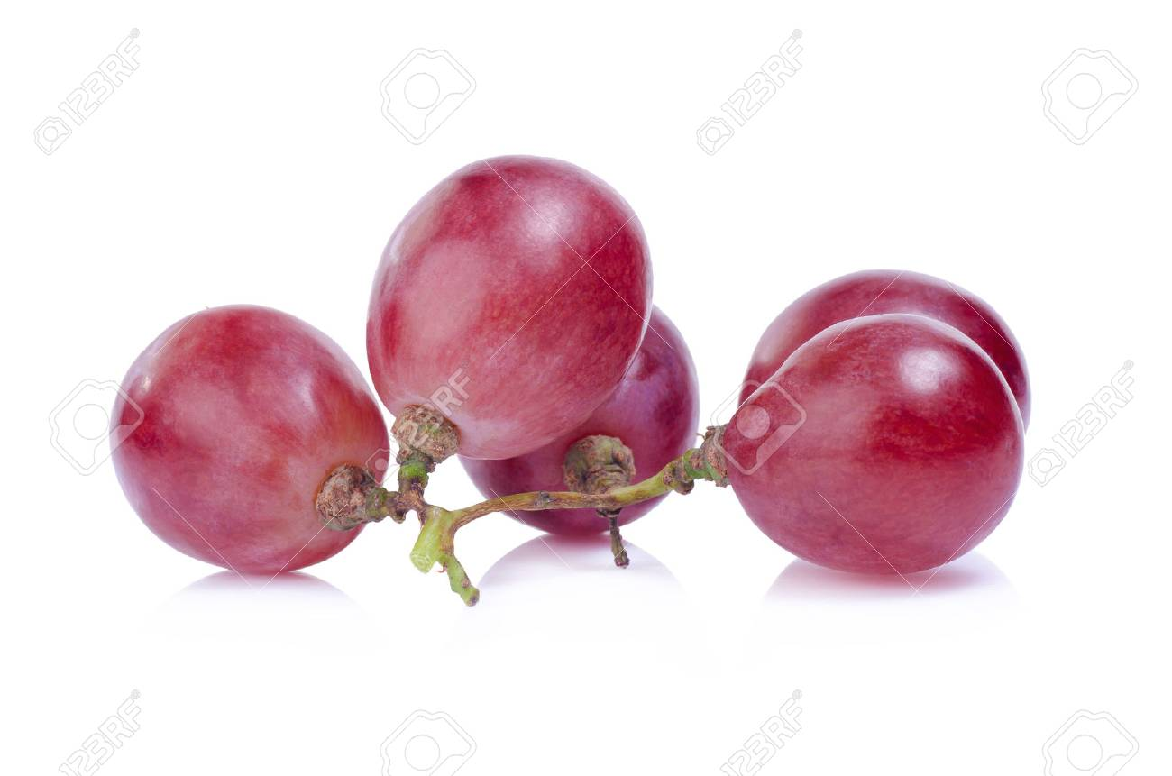 grapes isolated on over white background - 44147743