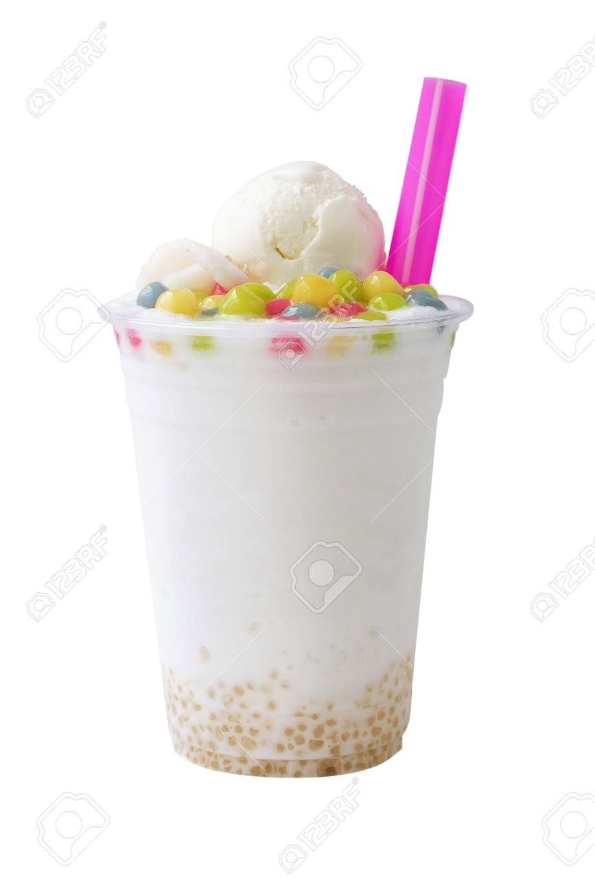 Smoothies: and ice cream
