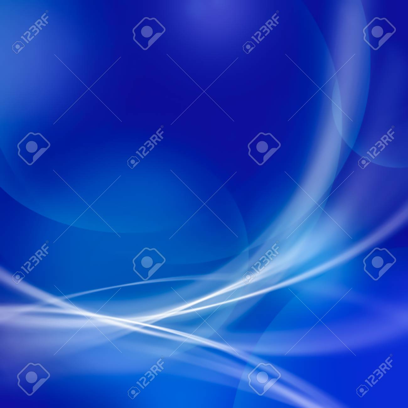 abstract soft line and bokeh on blue tone background Stock Photo - 20559886