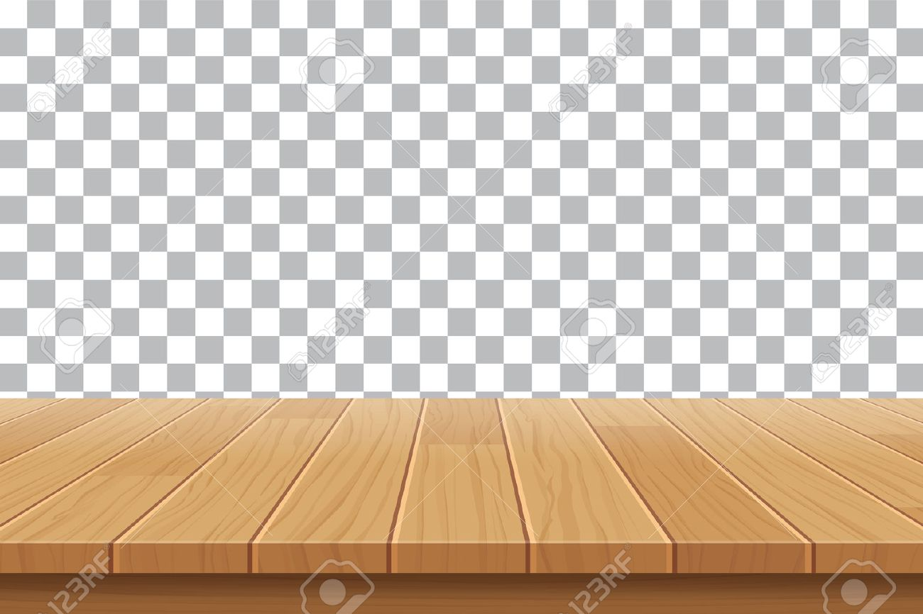 Ordinaire Vector   Vector Wood Table Top On Isolated Background